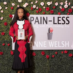An evening with Anne Welsh to launch her new book titled Pain-less